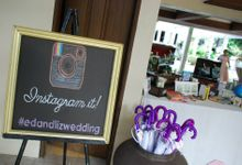 Purple Shabby Chic by Josiah's Catering