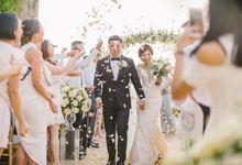 The Wedding of Clara and Phil at Anugrah Villa  by Classicku Bali Wedding