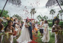 Wedding Celebration at Villa Seminyak Estate & Spa by Penjor Tour