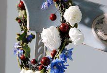 Blue in Harmony by Clea Flower Boutique - Jakarta & Bali