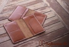 Passport Holder Kulit Custom Laser by Beawear.id