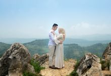 Foto pre wedding Hanam dan Dini by Weddingscape