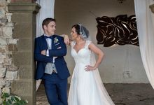 Debborah & Colin Tuscan Castel Wedding by KM Signature Weddings Italy