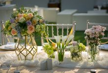 Bali Garden Wedding Decoration by Bali Izatta Wedding Planner & Wedding Florist Decorator