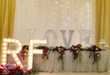 Wedding of Rendy & Fransisca by Azalia Decoration