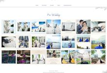 Albert-Griselda Wedding Website by Stand Forever