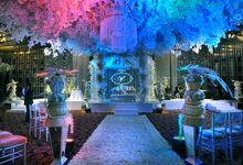 Beautiful Wedding Light of Renita & Yudha by Etcetera Lighting