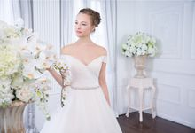 Orchid Wedding Gown Collection by Digio Bridal