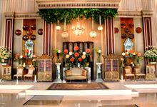 The Wedding of Maria and Mahdi by Amarillis Floral and Party Decorator