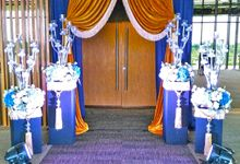 Midnight Blue theme Wedding by ZURIEE AHMAD CONCEPTS SDN BHD