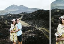Dhudik & Windy Pre-Wedding Photoshot at Kintamani by Samatha Photography