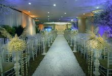 Silver Wedding Anniversary Ritz Carlton Pacific Place Jakarta by Emerys Flowers
