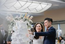 Wedding of Chandra & Ellen | 27 March 2021 by Financial Club Jakarta