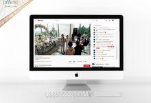 Fabian & Novi - Digital Invitation / Undangan Digital Connectied v2.0 + Live Streaming by Connectied Virtual Wedding