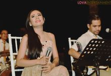 The wedding of wulan and paul at sinaran surga villa by LOVA BAND ENTERTAINMENT BALI