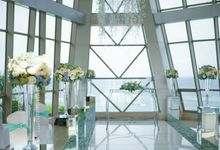 Wedding at Pearl Chapel Samabe Bali Suites and Villas by Penjor Tour