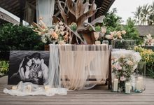 Wedding Anastasia & Arif by Bali Izatta Wedding Planner & Wedding Florist Decorator