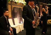 Balai Kartini - Kathy & Andi Wedding Reception by Jova Musique