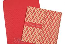 Wedding invitation design for Aryan & Shewta wedding by 123WeddingCards