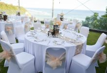 Ocean cliff view villa, best for up to 150pax by Bali Jepun Weddings & Events Planner