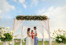 Dreamy Beach and Garden Wedding by Tugu Hotels