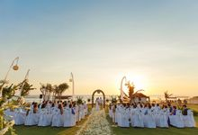 Wedding Jess and Henry at Tugu Bali by Tugu Hotels