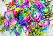 Over the Rainbow by Roseveelt Florist