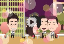 Wedding Animation of Andrew and Jolynn by The Hockey Pockey Animation