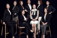 Our team of aestheticians & instructors by Lee Na Young Aesthetic & Academy (Semi-permanent makeup)