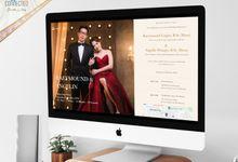 Raeymound & Angelin - Digital Invitation / Undangan Digital Connectied v1.0 + Live Streaming by Connectied Virtual Wedding