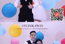 Wedding of Suryo & Dina by lolphotobooth.co