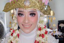 Bride Shavira Amalia by rinamaemua
