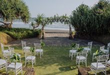 Tropical Greenery Wedding Decoration in Bali by Bali Izatta Wedding Planner & Wedding Florist Decorator