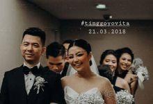TINGGO YOVITA WEDDING by bridestore indonesia
