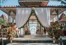 White Rustic by Bali Izatta Wedding Planner & Wedding Florist Decorator