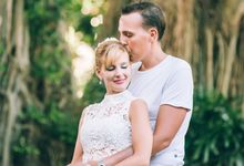 Melodie & Damien - Honeymoon in Bali by AT Photography Bali