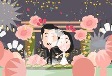Wedding Animation of Andree and Stacy by The Hockey Pockey Animation
