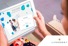 Mikhael and Gisella - Venti Package 2 by LIfegreet Online Invitation