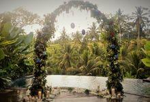 Proposal at private villa by Puri Sebali Resort