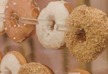 Donut Wall by Gordon Blue Cake