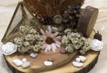 Engagement decoration by Pandora Organizer