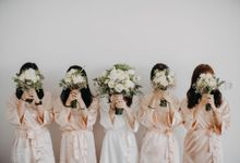 The Wedding of Adrian & Huiling by Bali Yes Florist