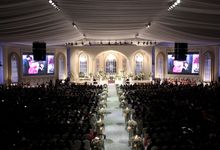 John and Xuan Wei's Holy Matrimony by Amarillis Floral and Party Decorator