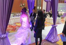 Behind the scenes by deVOWed Wedding & Event Planner