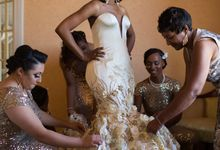 Couture Gold Wedding Gown by Desiree Spice