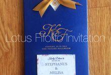 Khohill & Fenny by Lotus Fifolifo Invitation