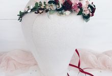 Bridal Flower crown by Serenity Wedding