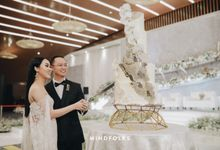 The Wedding Cakes by  Menara Mandiri by IKK Wedding (ex. Plaza Bapindo)