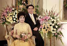 The 50th Wedding Anniversary of Mr Yusuf and Mrs Foe Sioe Lan by Poise Room Wedding Organizer