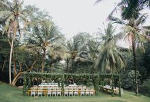 Just Married by DIJON BALI CATERING
